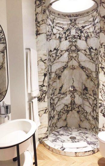 doccia bagno Calcatta viola